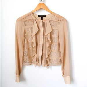 BCBG Silk Blouse